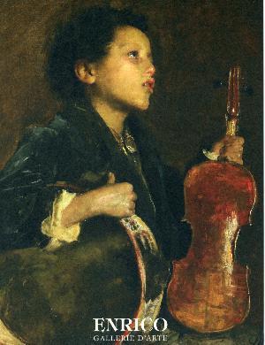 ANTONIO MANCINI (1852 - 1930)  Il Piccolo Savoiardo - Storia ed Analisi di un Capolavoro