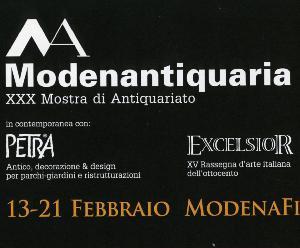 Modenantiquaria - XXX Mostra di Antiquariato