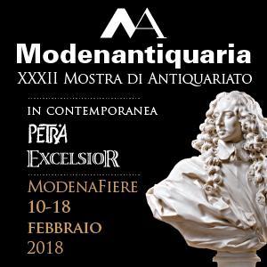 MODENANTIQUARIA - XXXII MOSTRA DI ANTIQUARIATO