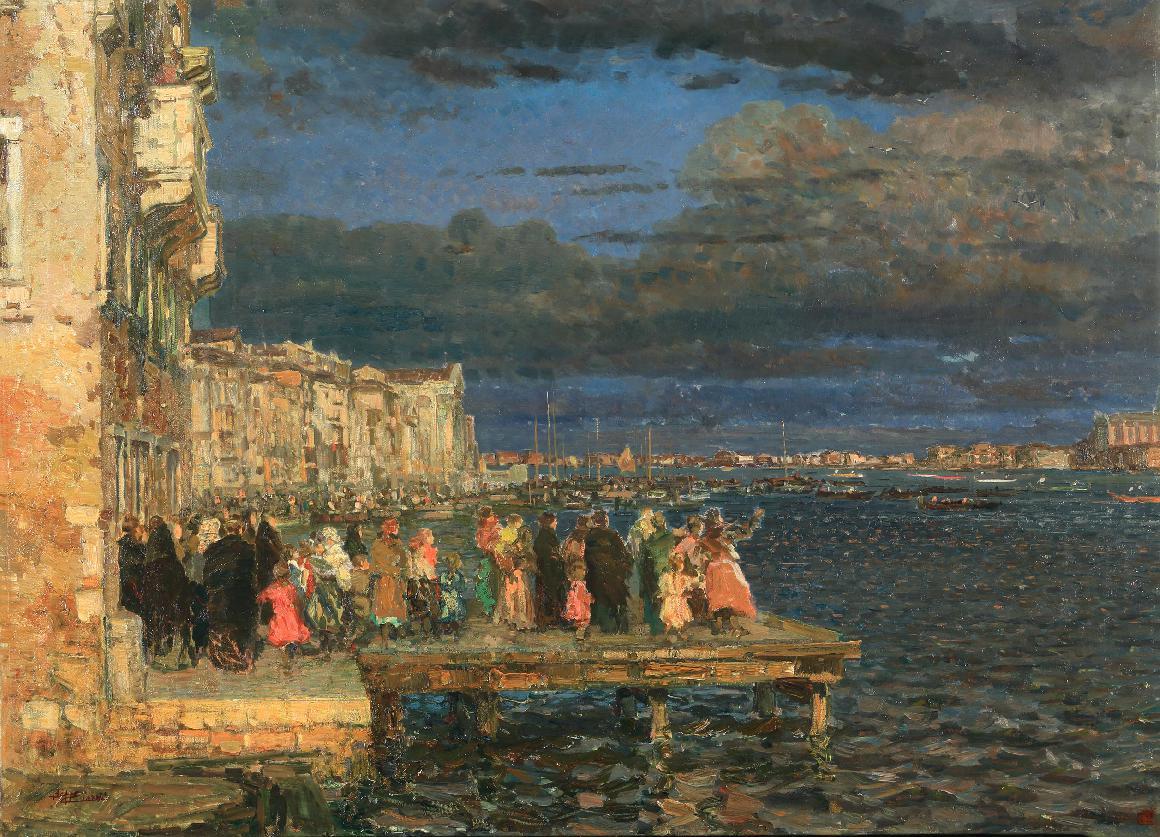 Sul molo, Venezia