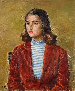 Ritratto di signora - 1955