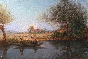 Canale al tramonto - 1916