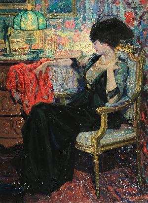 Ritratto di signora elegante - 1918