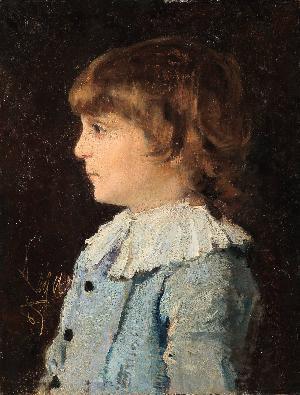Busto di fanciullo - 1885