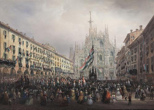 Commemorazione dei caduti delle Cinque Giornate di Milano - 1848