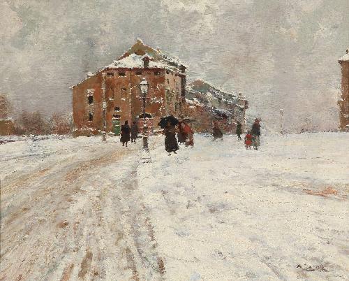 Inverno a Lugo di Romagna