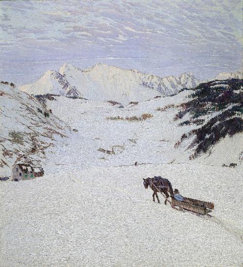 La slitta - 1905