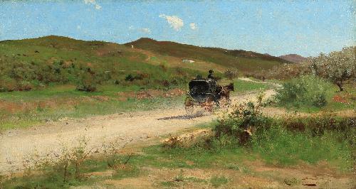 Carretto in campagna