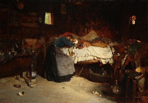 Il bimbo malato - 1885