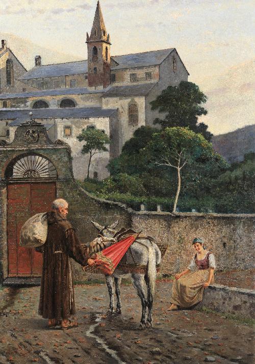 Rientro al convento - 1901
