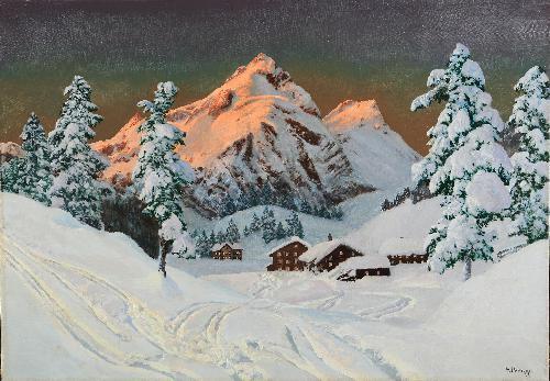 Inverno a Schrocken, Bregenzerwald