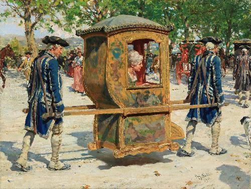 'La portantina' - 1918