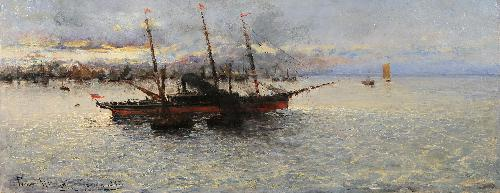 Vento in poppa - 1883