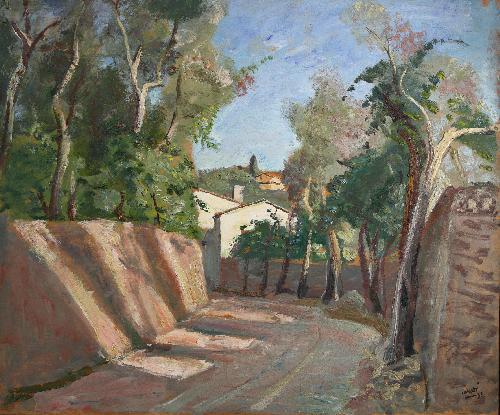 Strada di paese - 1933