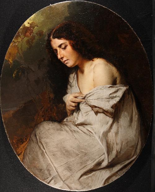 La mia modella - 1856