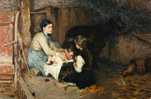 La capra nutrice - 1885