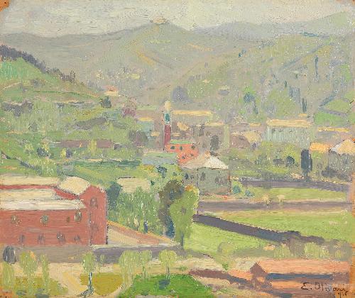 Orti a San Fruttuoso, Genova - 1916