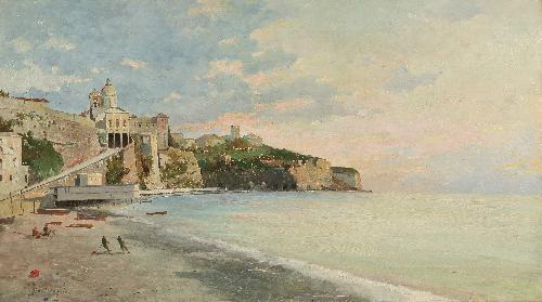 La foce, Genova