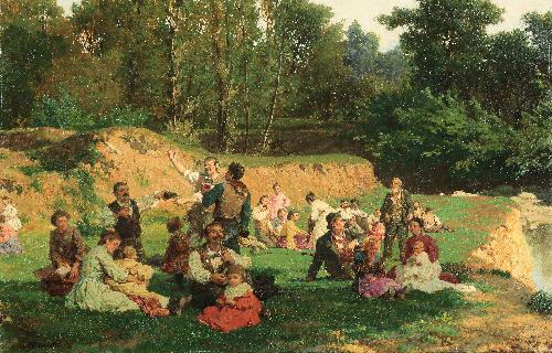 Bivacco in campagna
